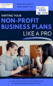 Non-Profit Business Plans
